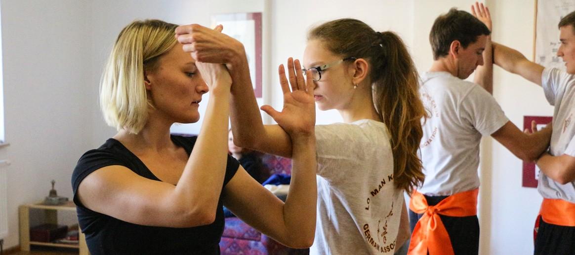 Selbstverteidigung Jena Kampfkunst Gewaltprävention Hebeltechnik china training wing chun kung fu