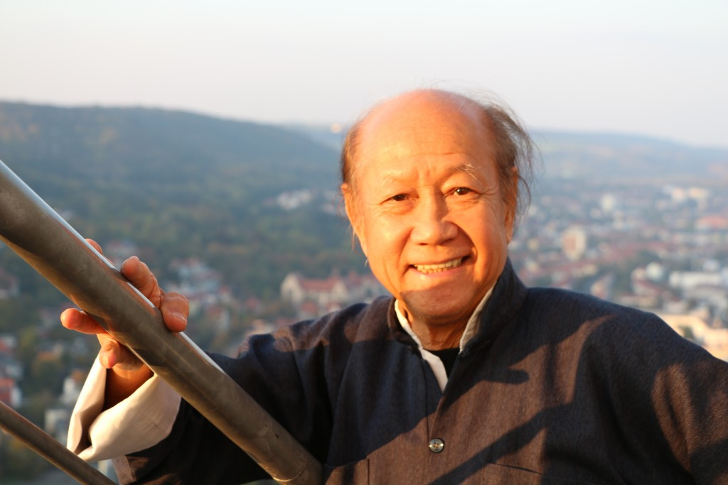 Wing Chun Grandmaster Sifu Lo Man Kam in Jena