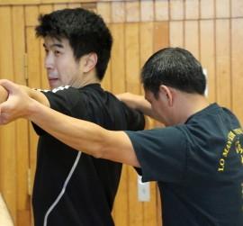Kampfkunst Jena Selbstverteidigung Wing Chun long bridge Ip Man Kung Fu Gorden Lu