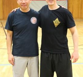 Kampfkunst Jena Selbstverteidigung Wing Chun long bridge Ip Man Kung Fu Gorden Lu Robin Tutzschke