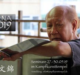 Lu Wen-Chin Wing Chun Großmeister Jena